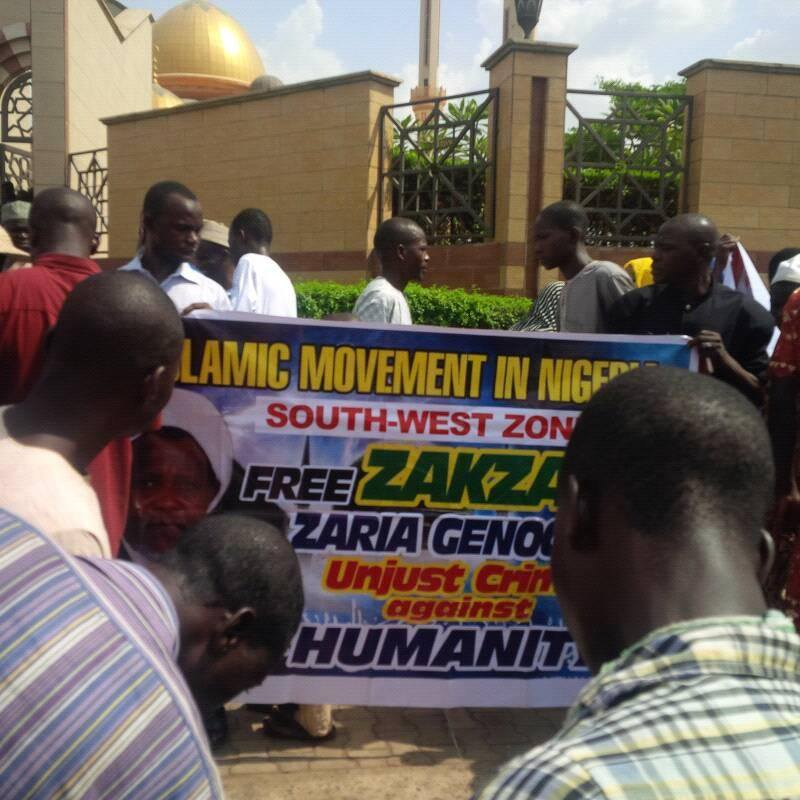 protest in Ilorin