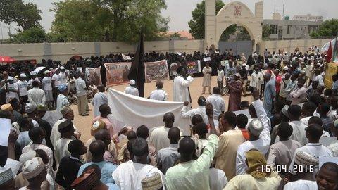 free zakzaky PROTEST in kano