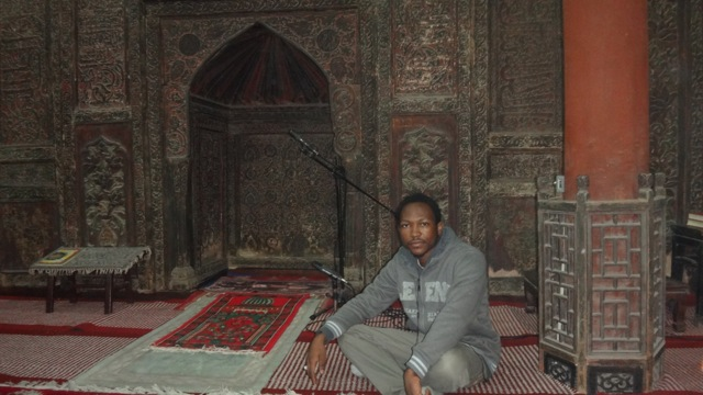 Hamed and Ahmad in China's oldest mosque
