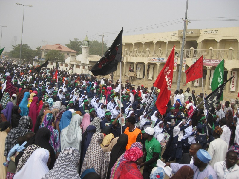 Maulid/free zakzaky procession Bauchi 1437