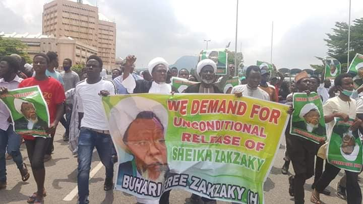 freezakaky protest in abuja on  wed 22nd july 2020