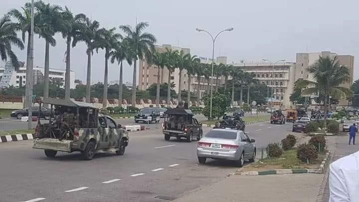 police attack free zakzaky protest in abuja on fri 7 aug 2020