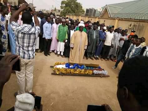 shahid jawad aminu killed by police in kaduna on 26 feb