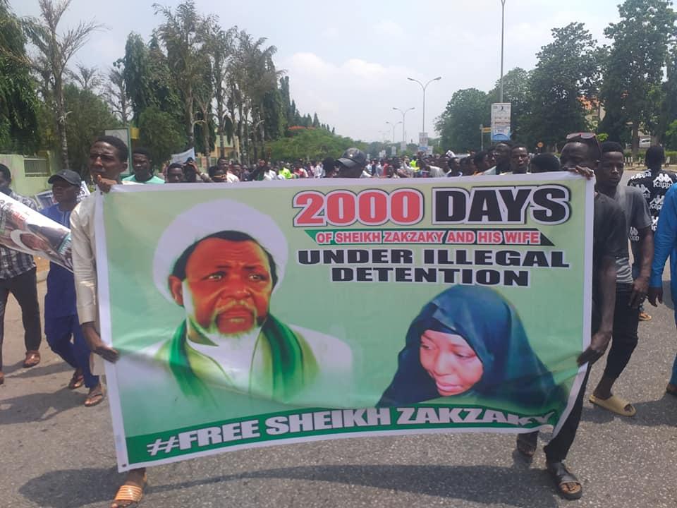free zakzaky in abuja on thurs 3nd June 2021