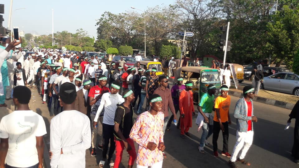 maulid procession in abuja on 17th R/ Auwal 1440