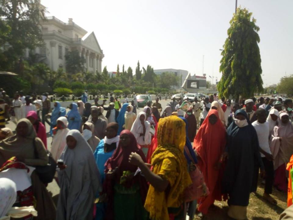 police attack arba'een trek in abuja