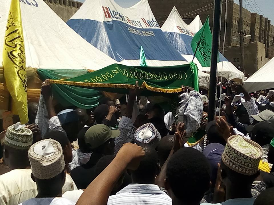 imam ridha birthday in kano 2017 day 3 hoisting of flag