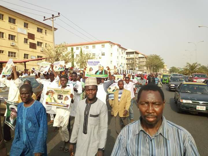 free zakzaky in Abuja on 1st Feb