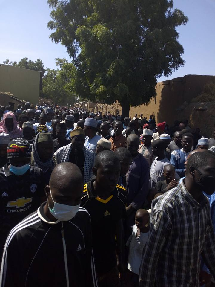 funeral of Shahid aminu ibarhim killed by by police in ABuja