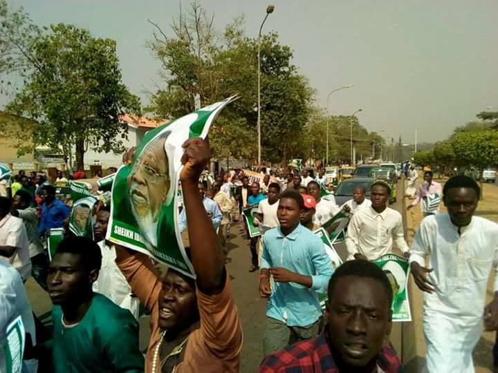 free zakzaky protest in abuja on 10th jan, killed by police