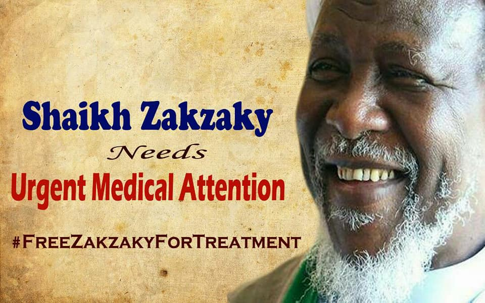 free zakzaky protest for medical care