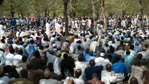 zahra rally in kano on  9  march