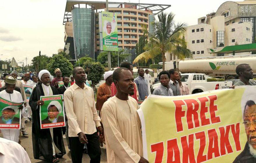 free zakzaky in abuja tuesday 10th july 2018
