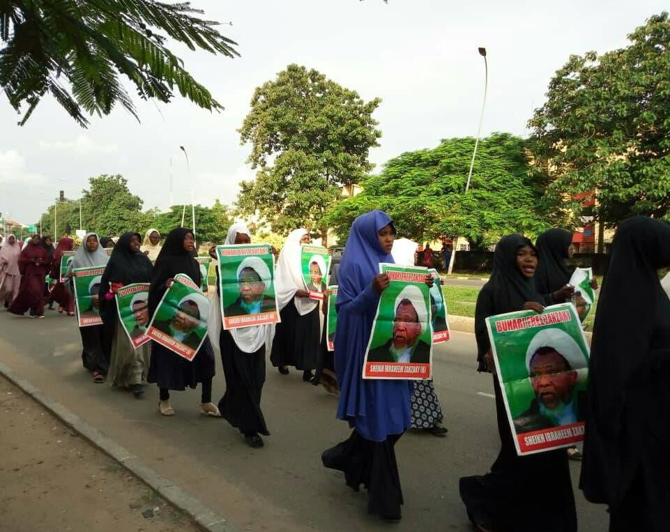 free zakzaky in abuja wed 18th july 2018