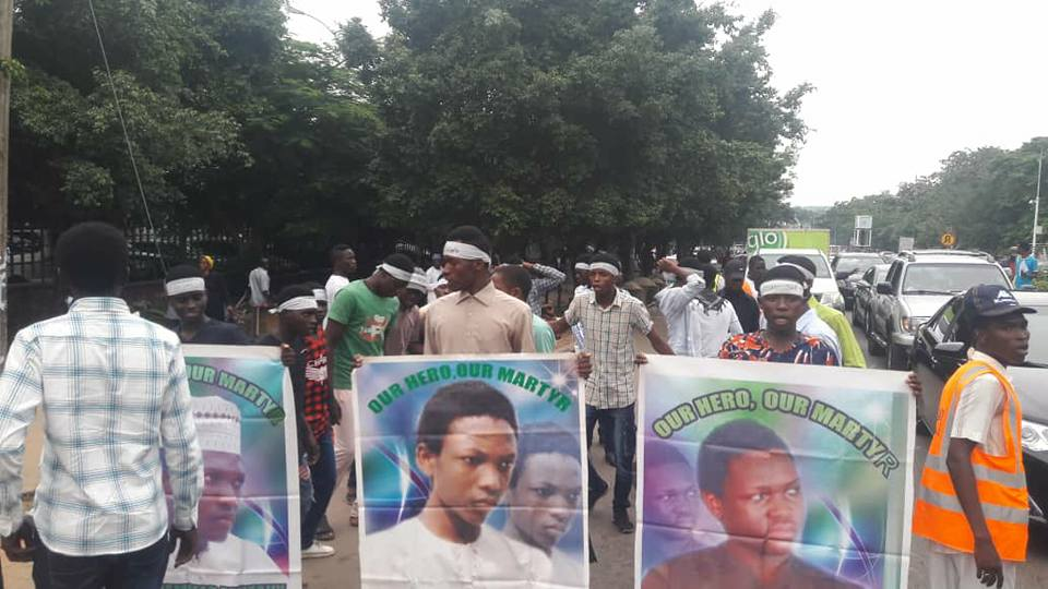 free zakzaky in abuja monday 2nd of july 2018