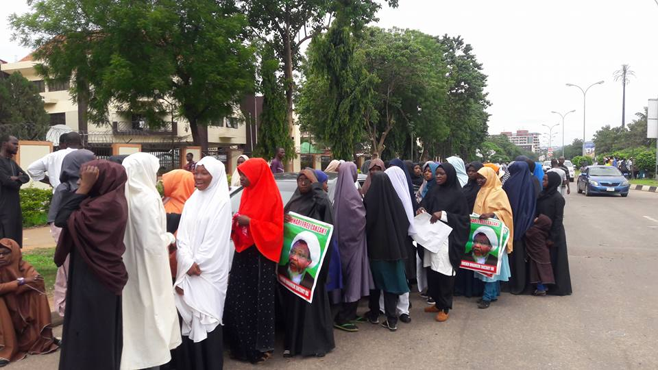 free zakzaky in abuja tuesday 3rd of july 2018
