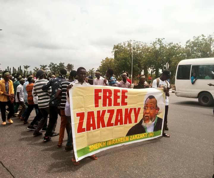 free zakzaky in abuja on 3rd may 2018