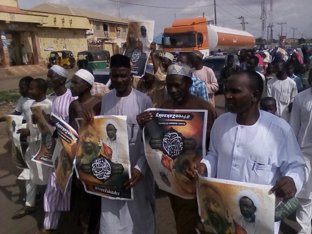 free zakzaky in kaduna friday 29th june 2018