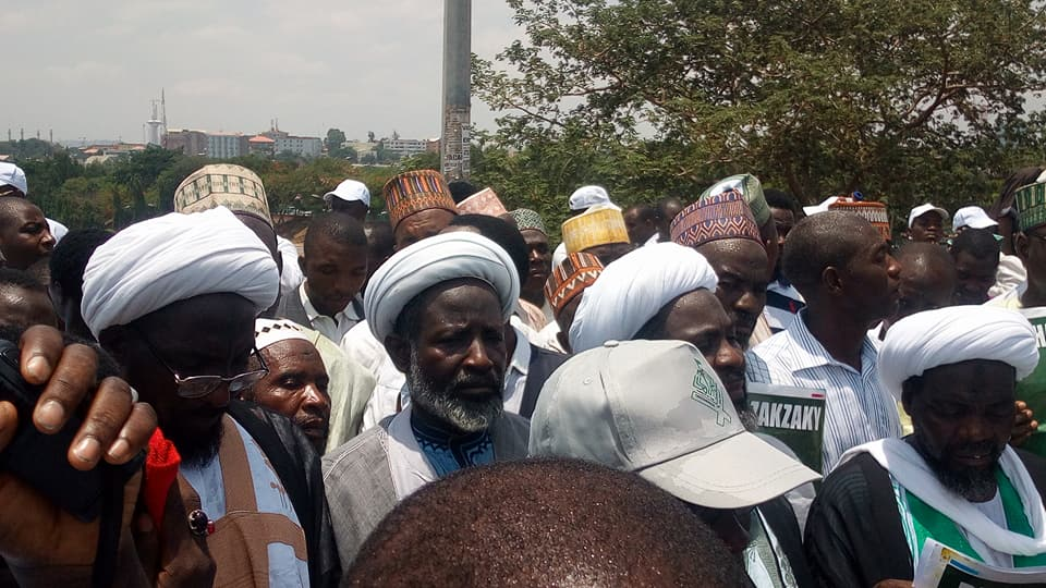 free zakzaky and nisf shaban in abuja on 2nd may