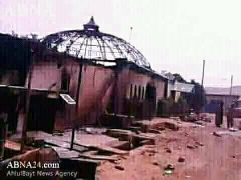 sheikh house burnt