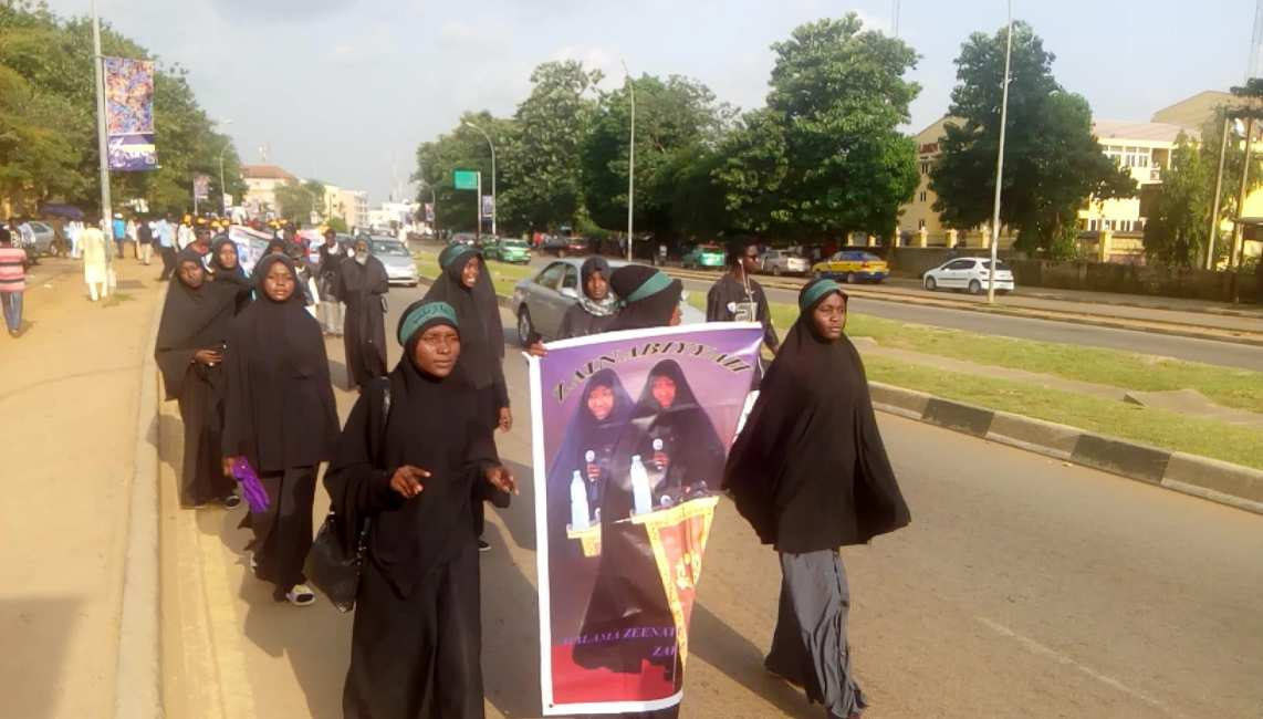 free zakzaky protest in abuja on tuesday 9th oct 2018