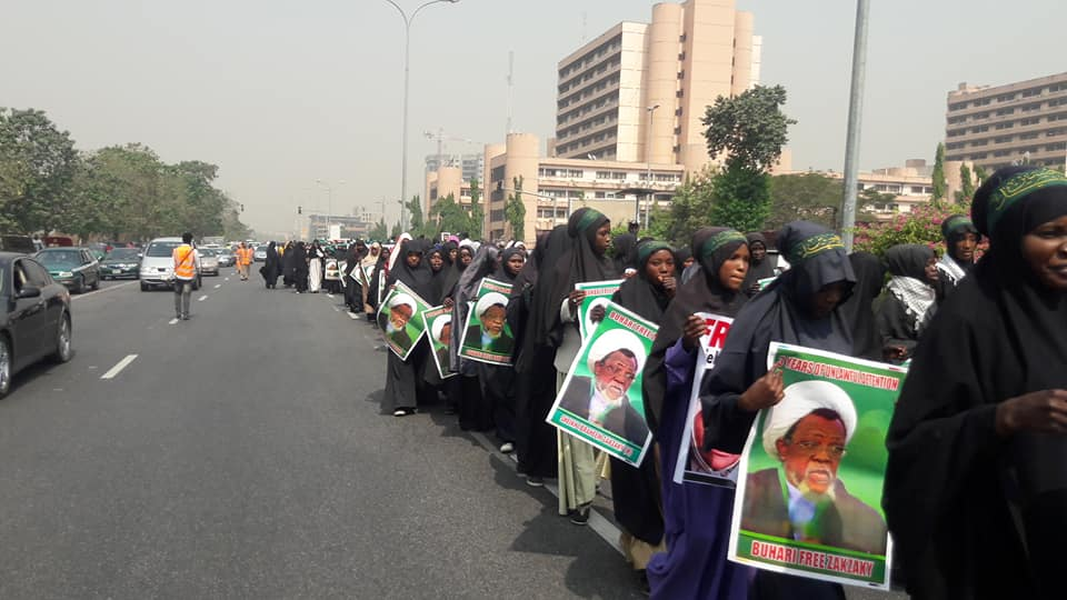free zakzaky in abuja on 22 jan