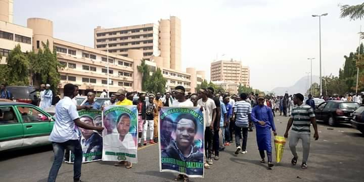 free zakzaky protest in abuja in tuesdat 5th feb 19