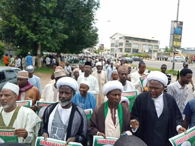 free zakzaky protest in abuja on wed 17th july 2019