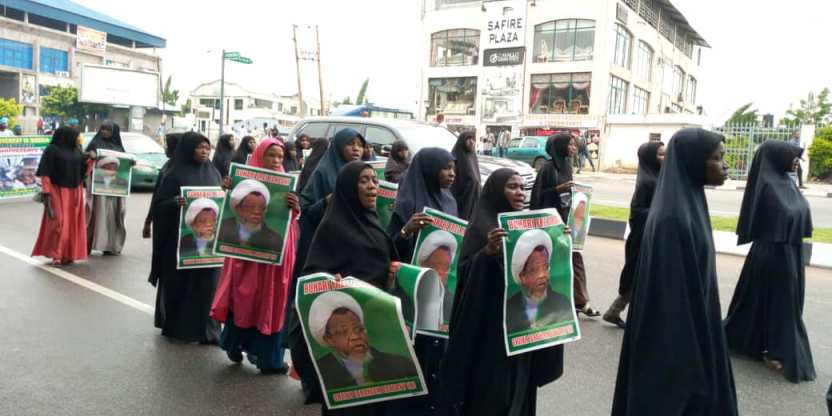 free zakzaky protest in Abuja on Mon 24th june 2019